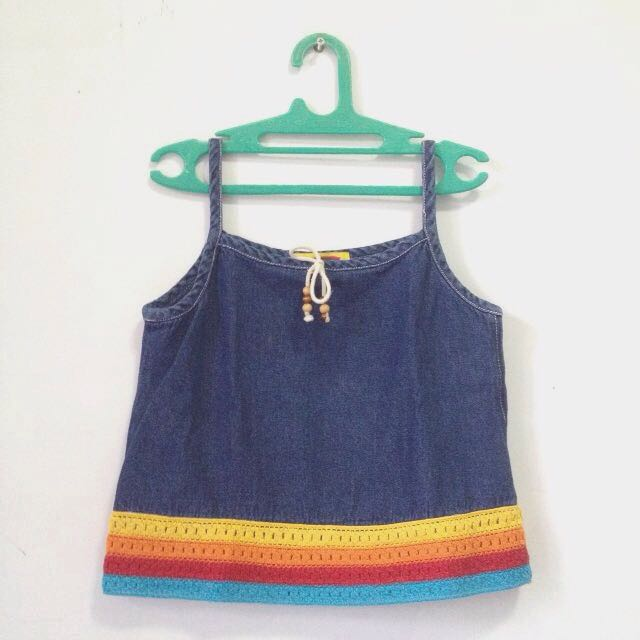 Festival Girl Denim Tops