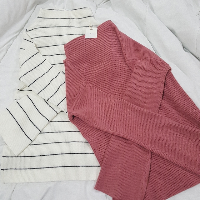 Flared Long Sleeves