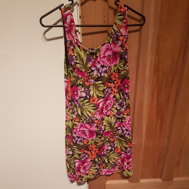 Floral Singlet Dress
