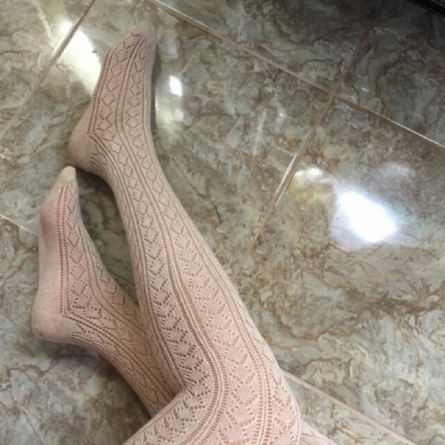 Forever 21 Lace Socks (Thigh Length)