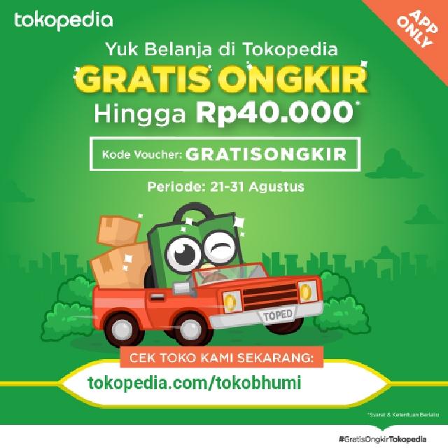 Free Ongkir Ditokopedia