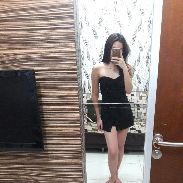 free ongkir. jumpsuit dress
