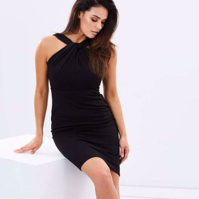 FRESH SOUL Size 6 Ignite Dress In Black
