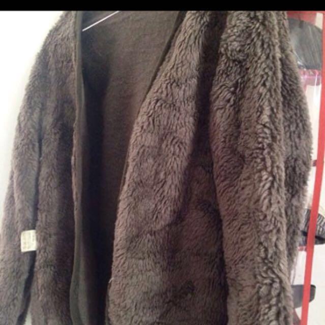 Fur Jacket/ Cardigan/ Coat