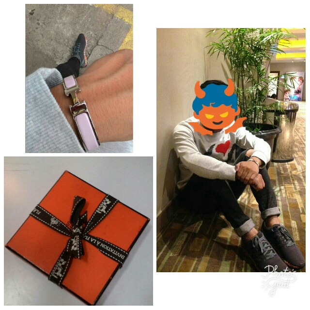hermes clic h bracelet authentic bought at hermes singapore