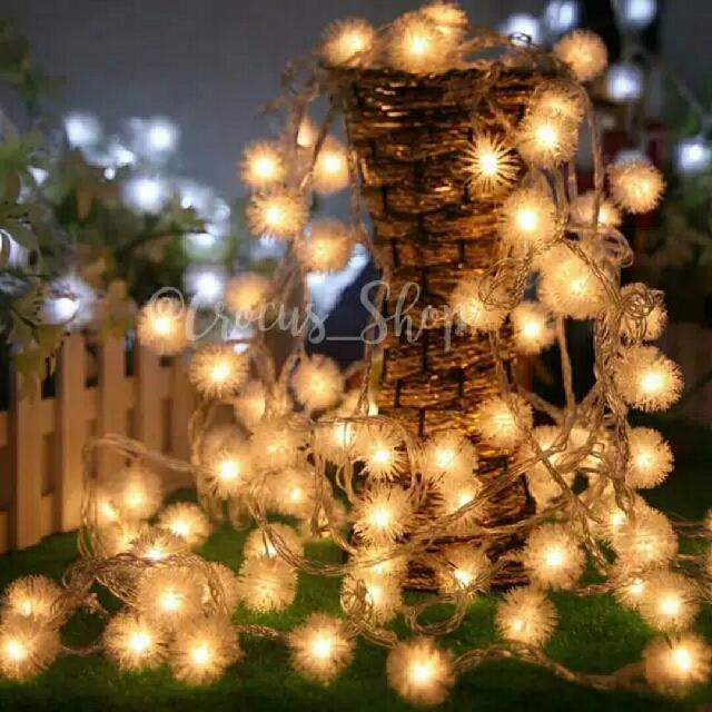 Hiasan Tumblr Lamp (Bola Duri)