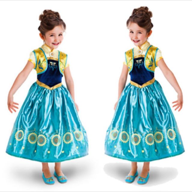 IN STOCK Anna Dress Frozen Dress Disney Princess Dress Elsa Dress Anna Outfit Disney Costume Halloween Birthday Party Dinner Dance Event Photoshoot ...  sc 1 st  Carousell & IN STOCK Anna Dress Frozen Dress Disney Princess Dress Elsa Dress ...