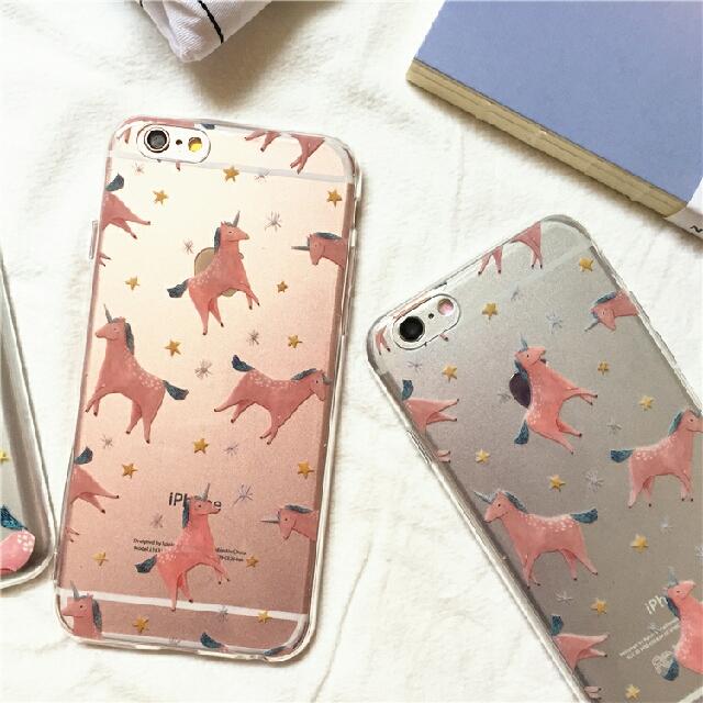 韓國蘋果iPhone原創獨角獸手機殼共2色