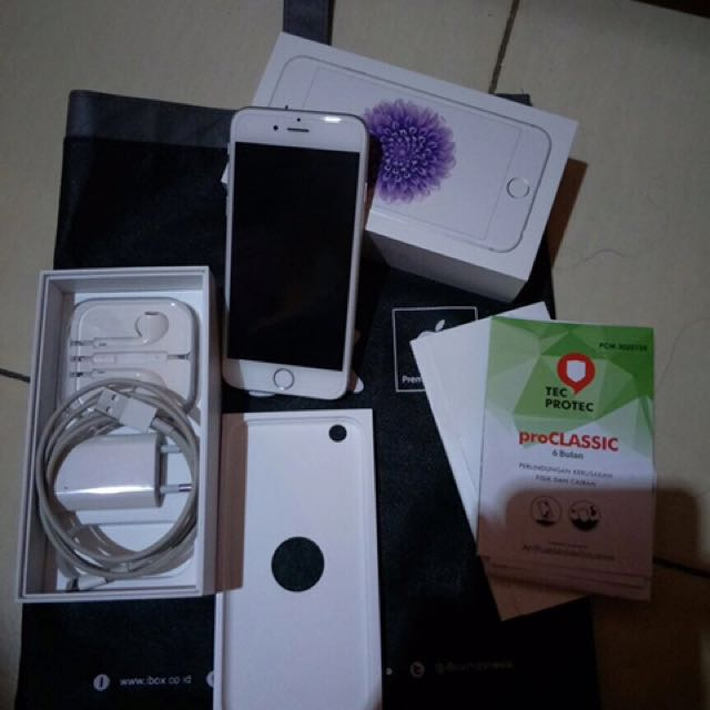 Iphone 6 64GB Silver IBOX