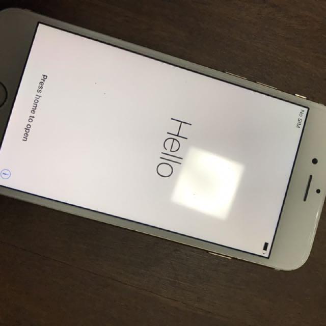 iPhone 6s 64GB unlocked GOLD