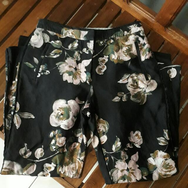 Jcrew Floral Pants