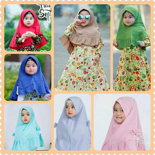 Khimar Kayla Kids