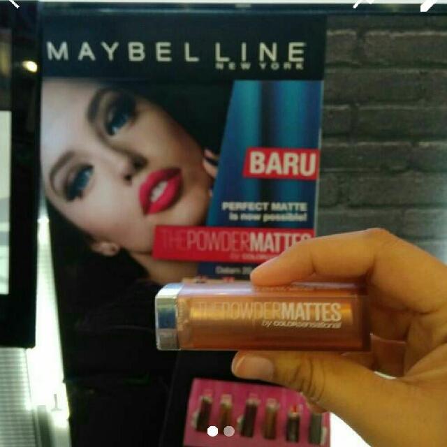 Lipstic Maybelline Powder Matte