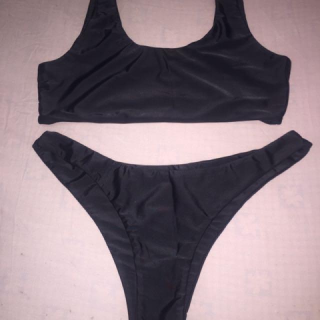 Loreta Black Bikini - Marked XL but Fits Size L