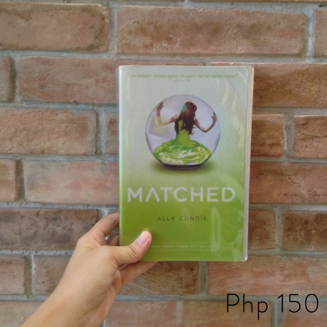 Matched series by ally condie ya book books books on carousell fandeluxe Gallery