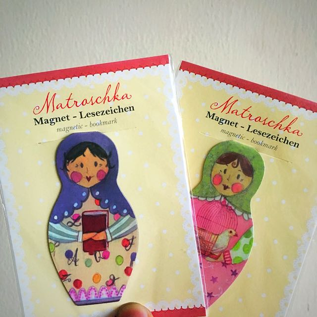 Matryoshka doll Magnetic Bookmark
