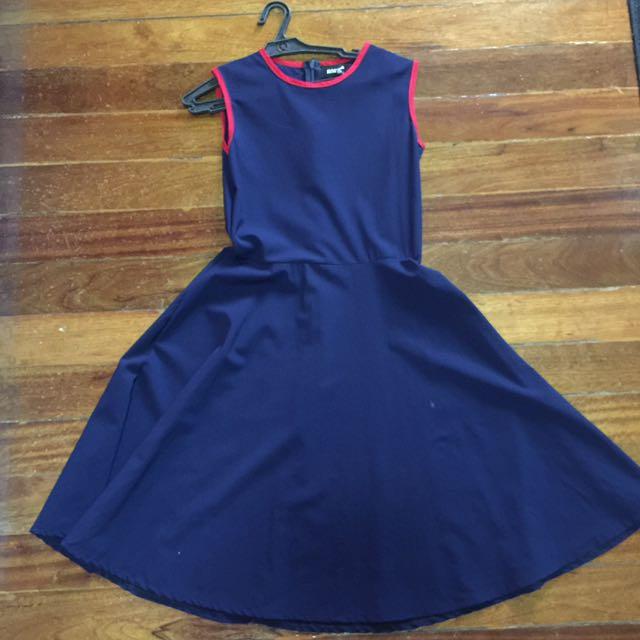 Meg Blue Dress