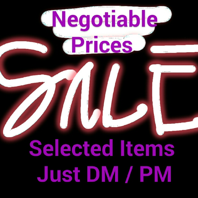 Negotiable! Affordable!