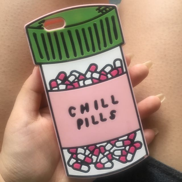 NEW Chill Pill iPhone 6/6S case