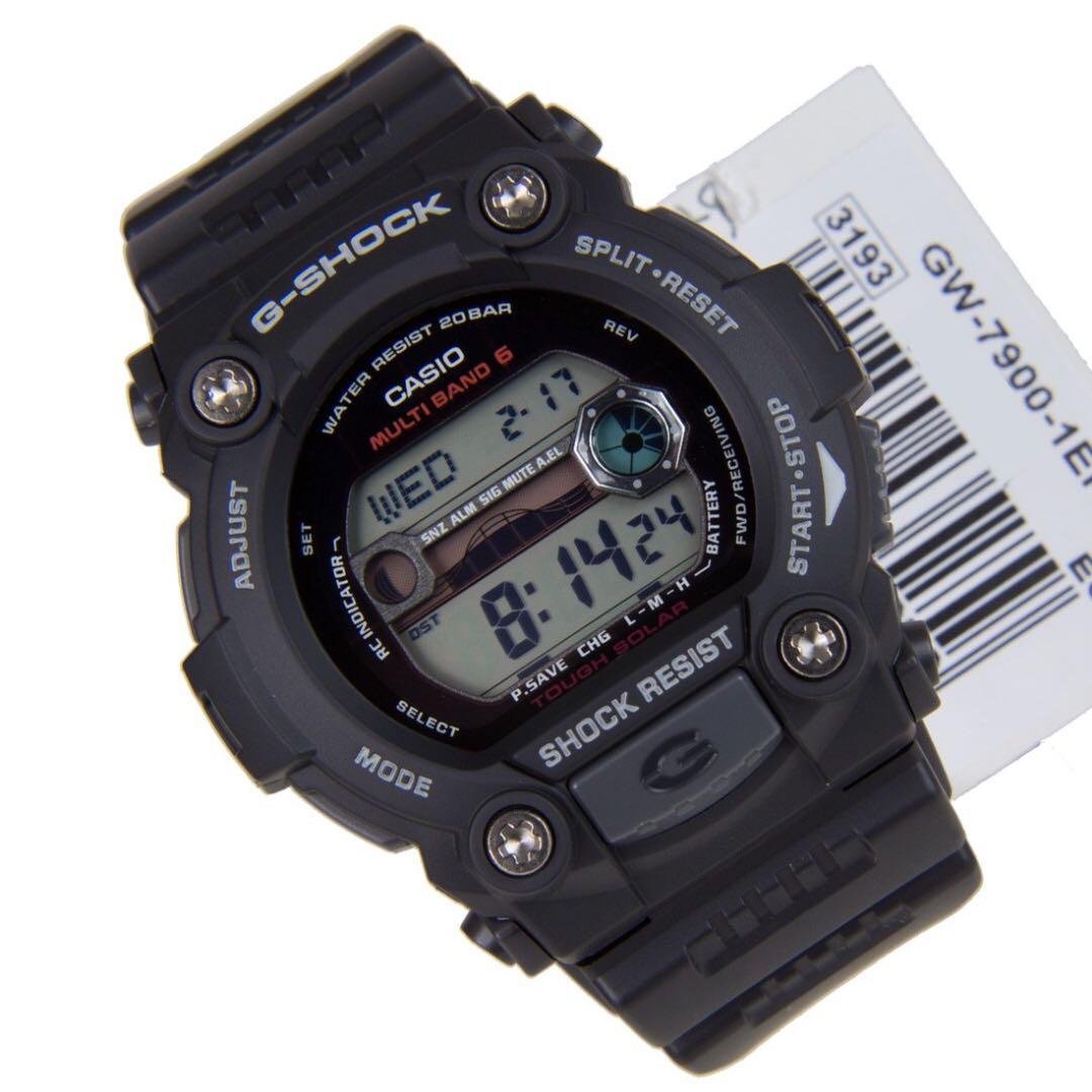 New Original CASIO G-Shock GW-7900-1ER (1 Year Warranty) 6c4c875b739