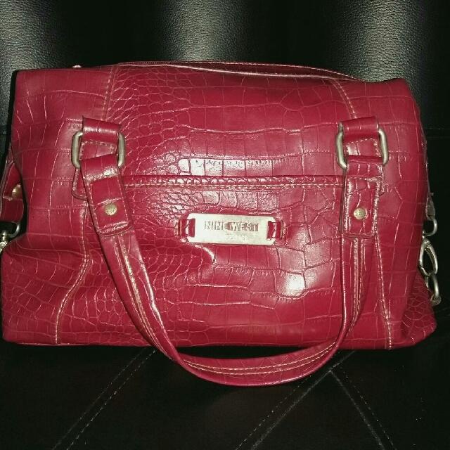 Nine West Red Handbag