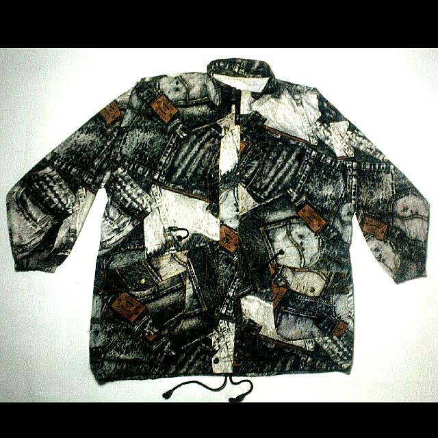 Parka Lee Jeans Usa Authentic Full Print