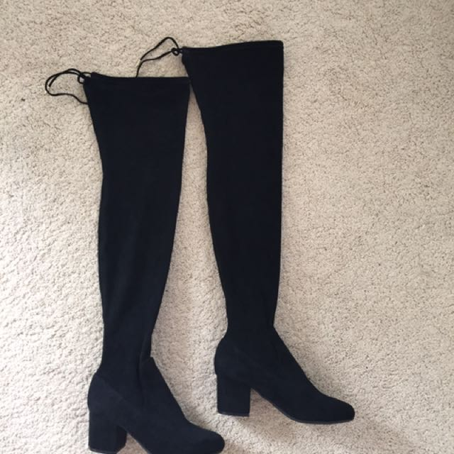 Piper over the knee boots