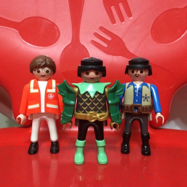 Playmobil Figures Lot