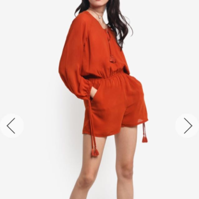 Playsuit From Zalora