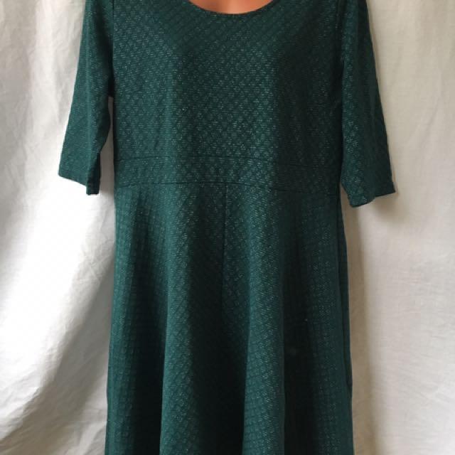 Plus Size 16 Green Formal Dress