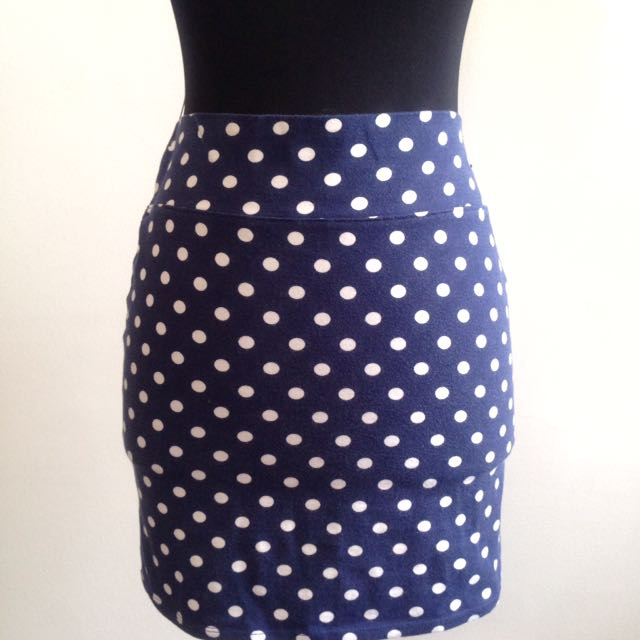Polkadot Skirt by Forever21
