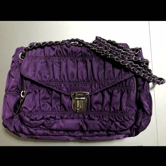 022fe73815 ... clearance prada tessuto gaufre shoulder bag luxury bags wallets on  carousell dcf24 39c2c