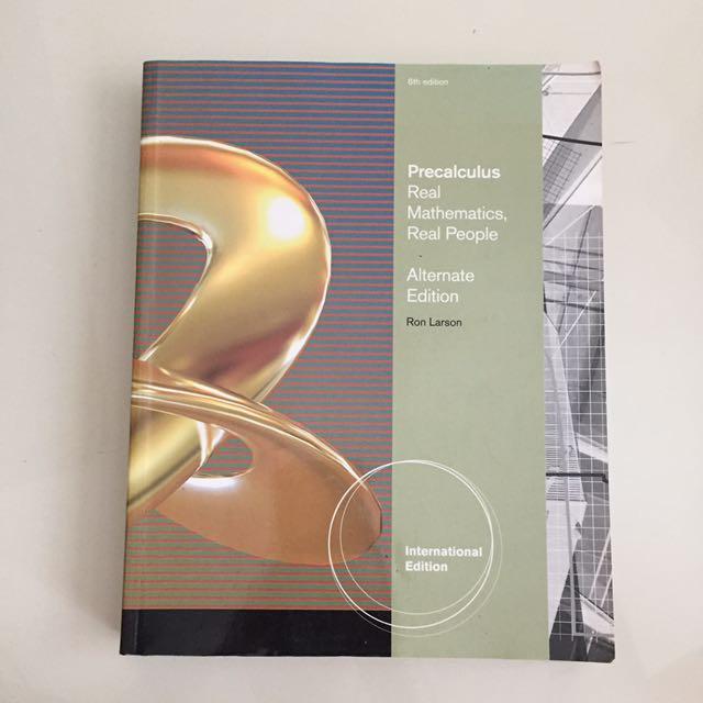 Precalculus Textbook/ Assessment Book, Books & Stationery