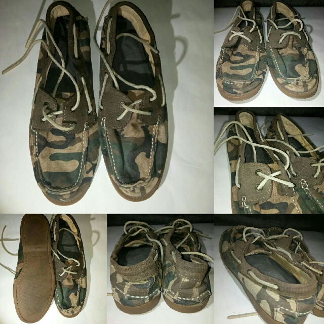 Preloved Bass-Hampton Camouflage Shoes