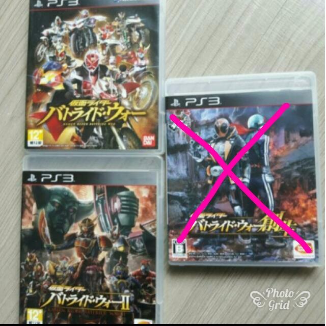 PS3假面騎士系列遊戲