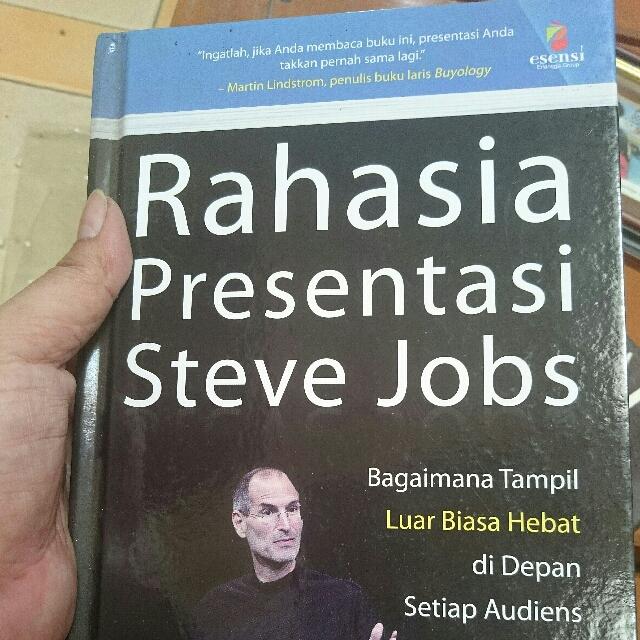 """Rahasia Presentasi Steve """"Apple"""" Jobs"""