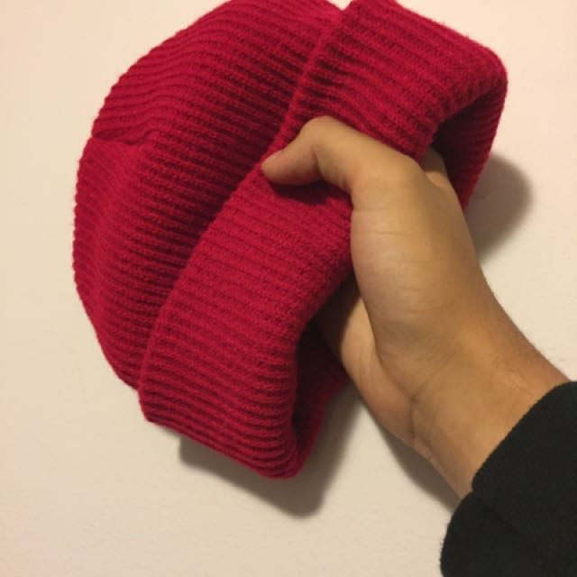Red Gas Station Beanie