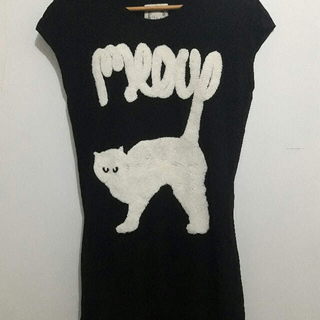 Salad Meow Top/mini Dress