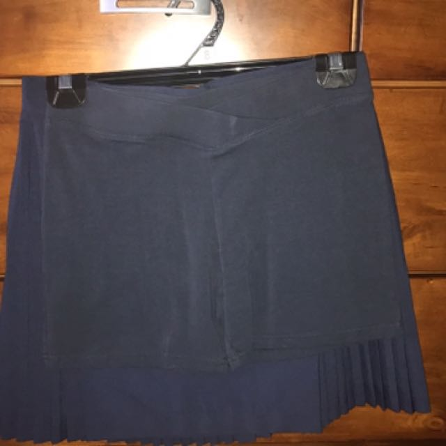 School Skirt And Shorts - Navy Blue