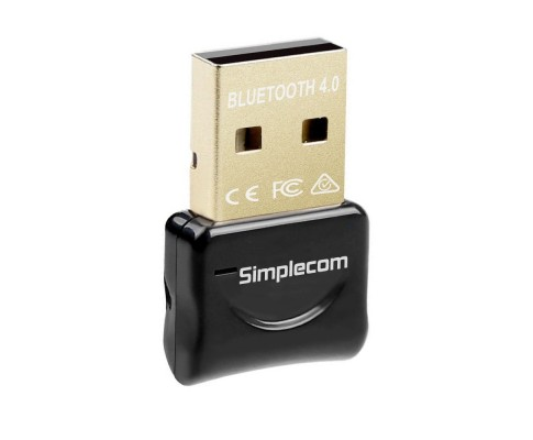 Simplecom NB407 USB Bluetooth 4.0 Widcomm Adapter Wireless Dongle with A2DP EDR
