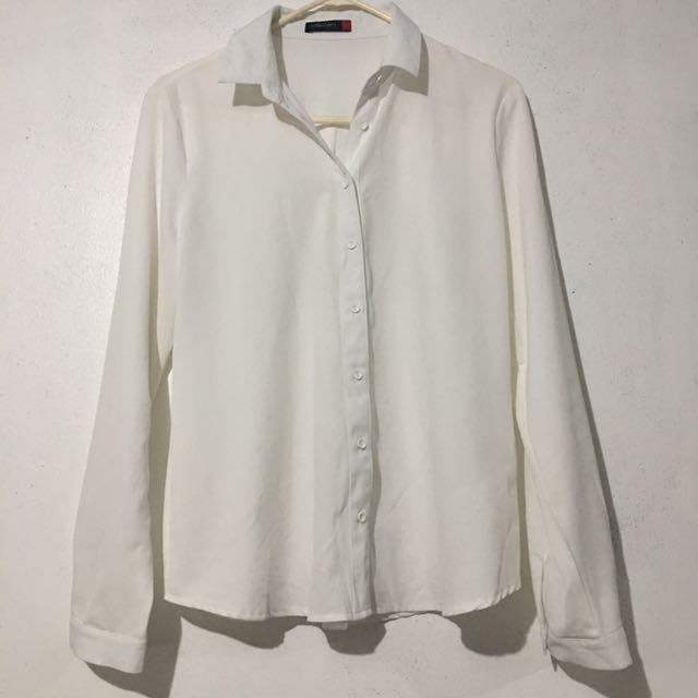 SM Woman White Top (Large)