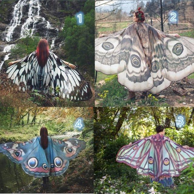 Summer Shawls! (moth series)