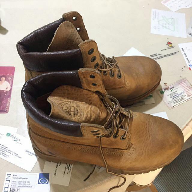 "Timberland Boot Yellow 6"" ORI"