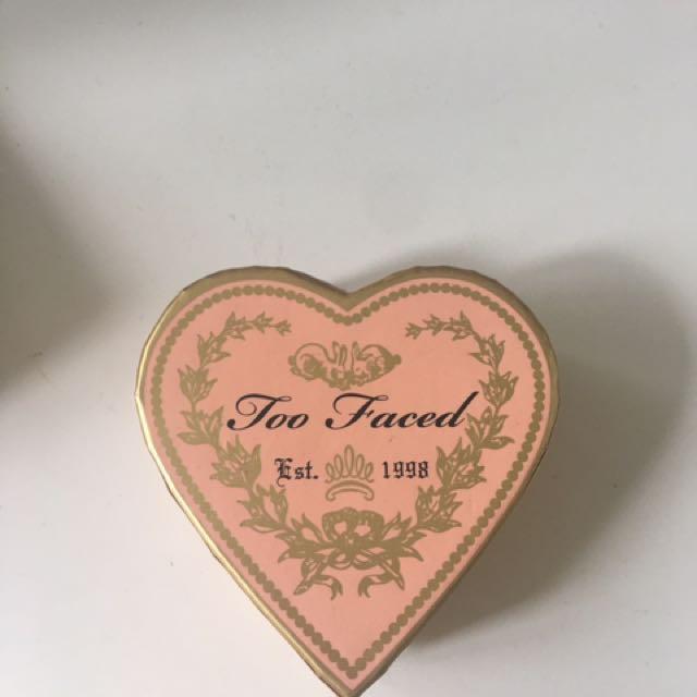 Toofaced Sweet Heart Blush