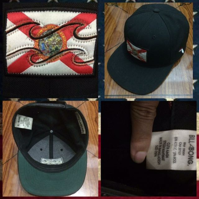 Topi Ori Billabong Florida