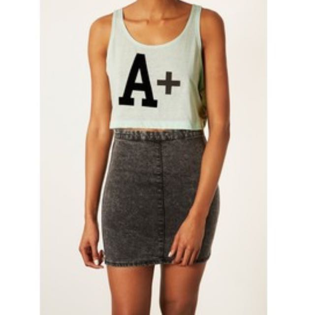 Topshop A+ Crop Top
