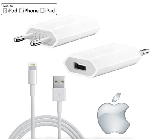 travel charger original iphone 5 / 5s / 5c / ipad mini / ipod touch
