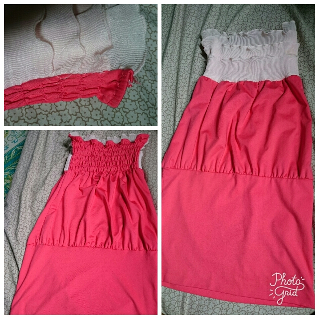 Tube Bodycon Pink Dress