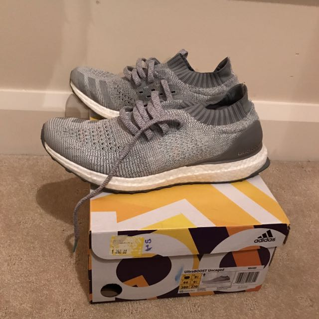 Uncaged Ultraboost Grey Us 9