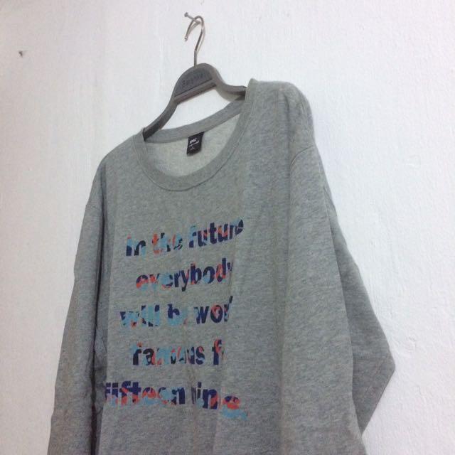 UNIQLO Andy Warhol Sweater